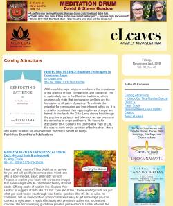 Nov 02 2018 eLeaves